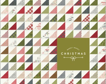 PRE-ORDER- Merry Merry Christmas Fabric