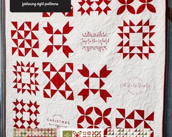 Printworks Christmas Quilts Booklet (Pre-order)
