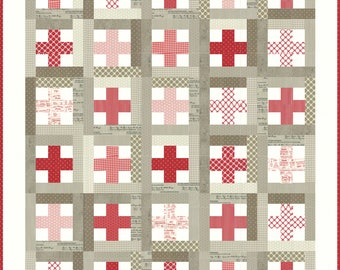Crossroads Quilt Pattern- Download
