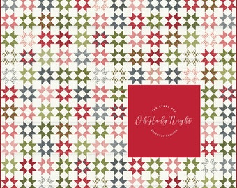 PRE-ORDER- Oh Holy Night Fabric Kit