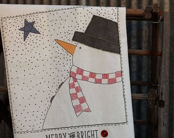 Sweetwater Ink- Merry & Bright Snowman