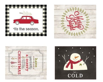 Mini Christmas Labels