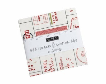 Red Barn Christmas Charm Pack (Pre-Order)