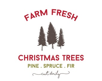 Sweetwater Ink- Farm Fresh Christmas Trees