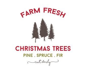Sweetwater Ink- Farm Fresh Christmas Trees