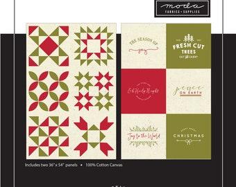 PRE-ORDER Red Barn Christmas Printworks Panels