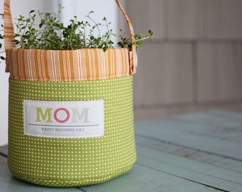 Mother's Day Pail- Download Pattern
