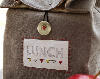 Lunch Sack- Download Pattern