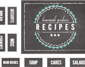 Iron on Label - Recipe