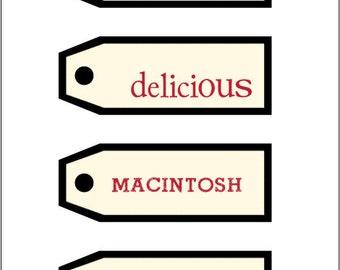 Apple Labels