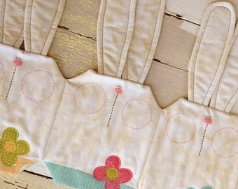 Bunny Table Runner - Download Pattern