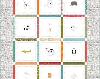 Duck Duck Moo Pattern - Download