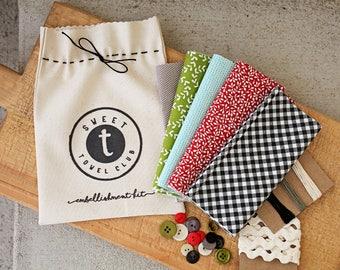 Sweetwater Ink- Towel Embellishment Kit