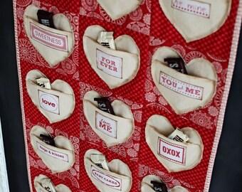 Heart Pocket Quilt- Downloadable Pattern