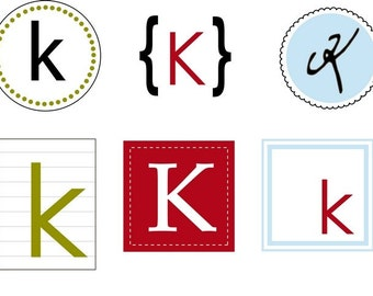 Monogram Labels