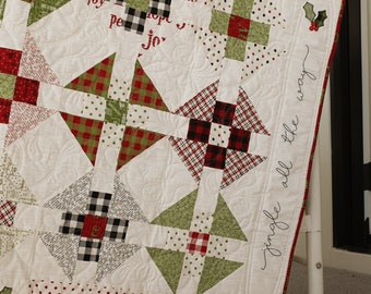 Jingle All The Way Quilt Pattern- Download
