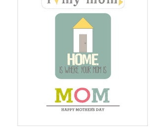 Mother's Day Labels