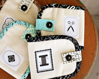 Mini Sewing Kit Pattern- Download