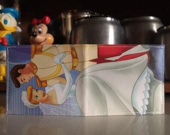 Cinderella & Prince Charming Disneyland Map Wallet
