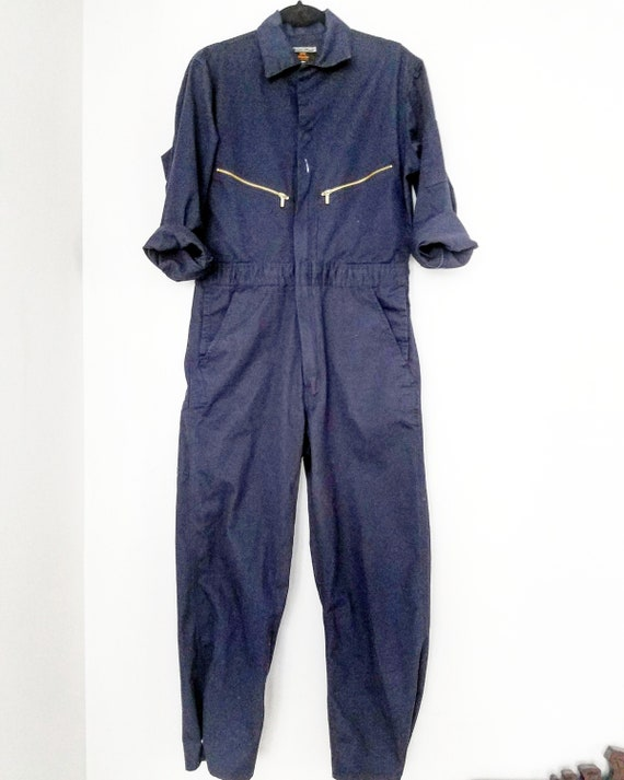 Navy Blue Walls Master Made One Piece Jumpsuit Cov