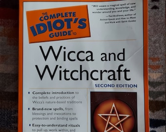Complete Idiot's Guide to Wicca and Witchcraft Book