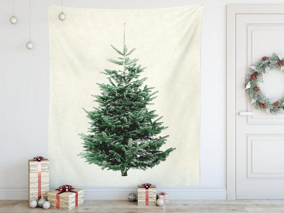 Modern Christmas Trees.Christmas Tree Wall Tapestry Modern Christmas Decoration An Alternative To A Traditional Christmas Tree