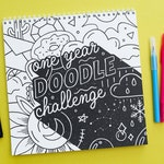 One Year Doodle Challenge Book
