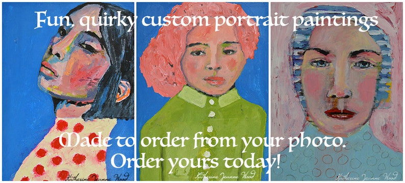 Personalized Gift  11x14 Portrait Painting From Photo by image 0