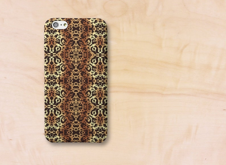 Animal Print Cell Phone Case Snap on or Tough Style Modern image 0