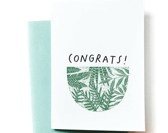 Congrats! - Greeting Card