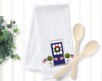 Fourth of July Tea Towel, Original Artwork Print, The Good Life™ Collection