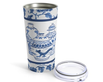 Trio of Ginger Jars Tumbler, Chinoiserie Tumbler, The Good Life™ Collection