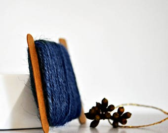 Chunky Denim Blue Twine {10.0m} | Chunky Twine | Blue Jute Twine | Rustic Blue Twine | Winter Blue Twine | Blue Jute Twine