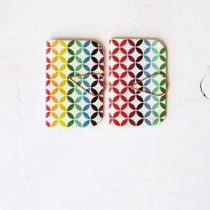 Blank Books Mini Blank Books {3} Security Patterns Mini Booklets Teacher Gift under 5 Mini Books Mini Notebooks or Journals