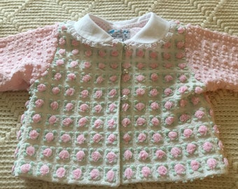 Baby Jacket from Vintage Chenille bedspreads