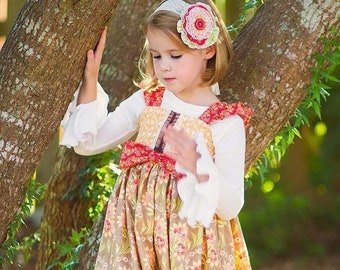 Cinnamon Avalon Dress