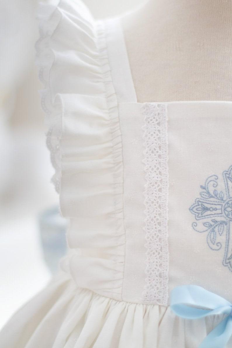 Girls Communion Baptism White Grace Flutter Dress c7NSCmiC