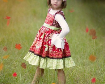Cranberry Avalon Dress