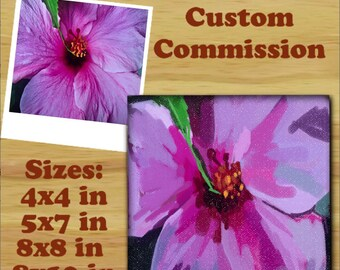 Custom Photo Paintings by AdrianaStoneArt Landscape, Nature, Flowers, Art from YOUR photos!