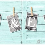 Names Spelled Out 4x6 Letter Prints | Vintage Sign | Name Photo Prop | Personalized Wedding Banner | Last Name Letter Art