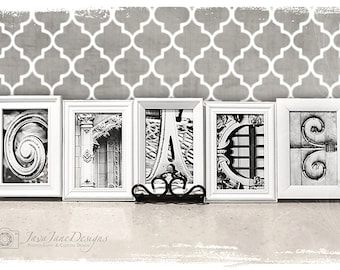 Letter Prints | 1 Hour Printing | Local Pick Up from CVS, Walgreens, Target | 4x6 Prints for Gallery Wall Letter