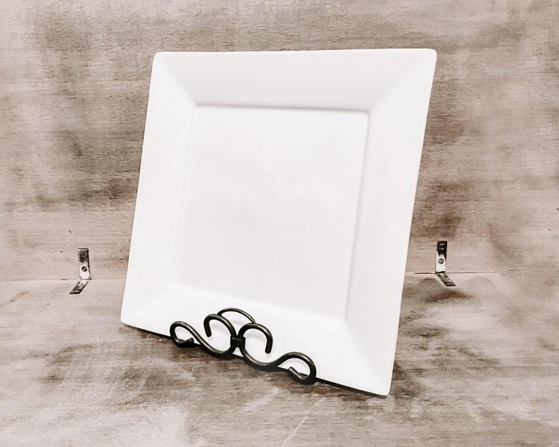 Artwork Display Easel  Black Picture Frame Easel image 0