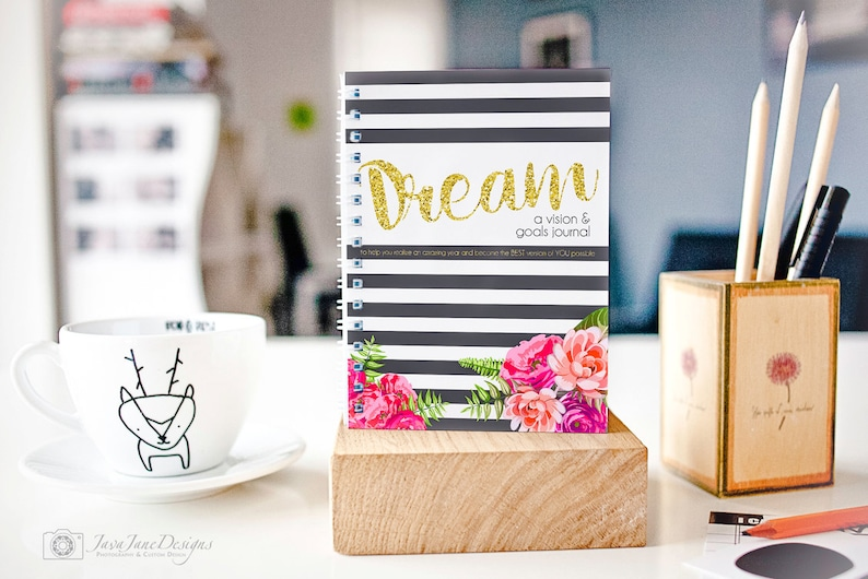 Goal Planner and Dream Journal  Personal Growth Workbook  image 0