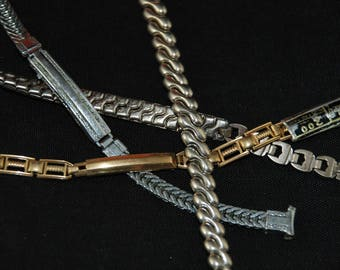 Steampunk Watch Bands Vintage Antique Bracelets  Altered Art B 76