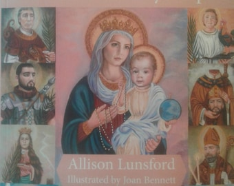 The Fourteen Holy Helpers Illustrated Catholic Children's Book, Recent Published Catholic Children's Book, New Release Children's Book,