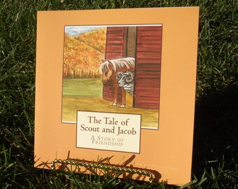 "Children's Book, ""The Tale Of Jacob and Scout"", Large Print, Heavily Illustrated, Sure to be a Children's Classic, Childrens Story Book,"