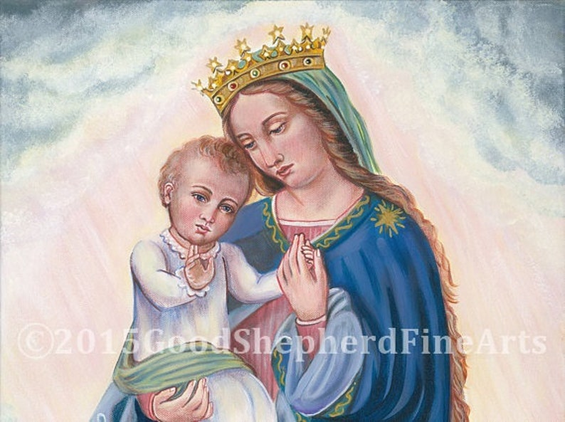 Queenship of Mary Queen of Angels and Saints image 0