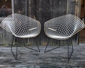 Midcentury Harry Bertoia for Knoll 421 Diamond Chair