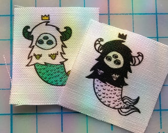 Mini Royal MerYeti Patches