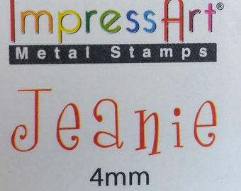 Jeanie font | Etsy
